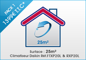 pack climatisation toulouse ARClim 25m²